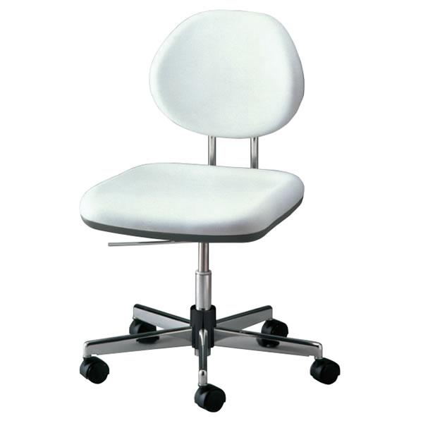 導電チェアー 作業用オフィスチェア 作業チェア 作業用椅子 背付き NOTSW-EH6