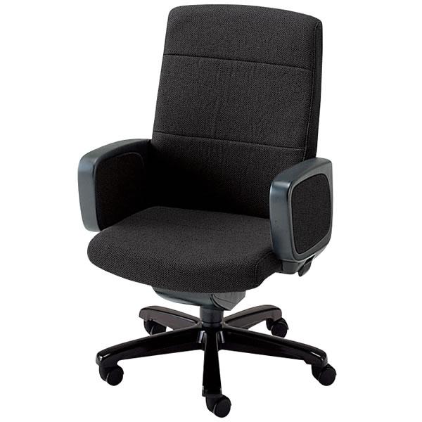社長椅子 役員椅子 ハイバック プレジデントチェアー エグゼクティブチェア 布張り 塗装脚 幕板肘 NOTXP-H8
