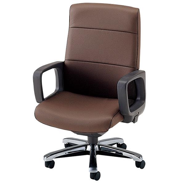 社長椅子 役員椅子 ハイバック プレジデントチェアー エグゼクティブチェア ビニールレザー張り メッキ仕上脚 NOTXP-M8LN