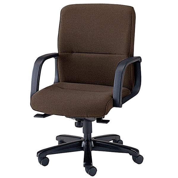 社長椅子 オフィスチェア ミドルバック プレジデントチェアー エグゼクティブチェア 布張り 塗装脚 NOTXQ-T6