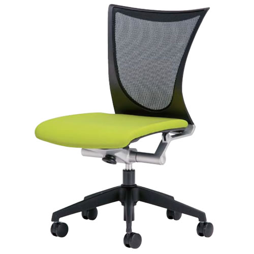 オフィスチェアー オフィスチェア 椅子 AMITTO アミット 背メッシュ 座クッション 肘なし AMI-35