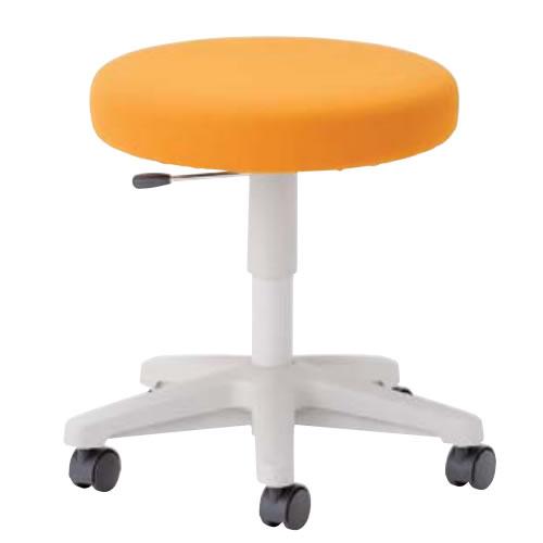 作業用チェア 丸イス 作業 椅子 スツール ラージクッションスツール キャスターつき BA-13