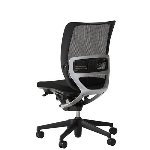 オフィスチェア 事務椅子 デスク用チェア 椅子 エスエフアール チェア SFR CHAIR ヘッド無 座クッション 肘無 SFR-62RB
