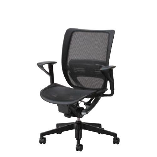 オフィスチェア 事務椅子 デスク用チェア 椅子 エスエフアール チェア SFR CHAIR ヘッド無 座メッシュ 固定肘 SFR-A75