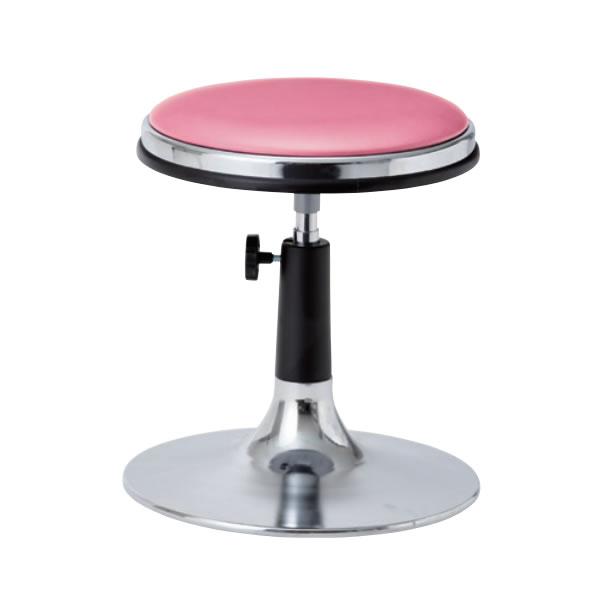 作業椅子 椅子スツール メディカルチェア TD型 患者用チェア 手動上下調節 メッキ円盤脚 TD-H13