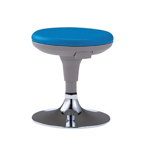 作業椅子 患者イス 椅子スツール メディカルチェア TSS型 患者用チェア ガス上下調節 メッキ円盤脚 布張りTSS-13BC