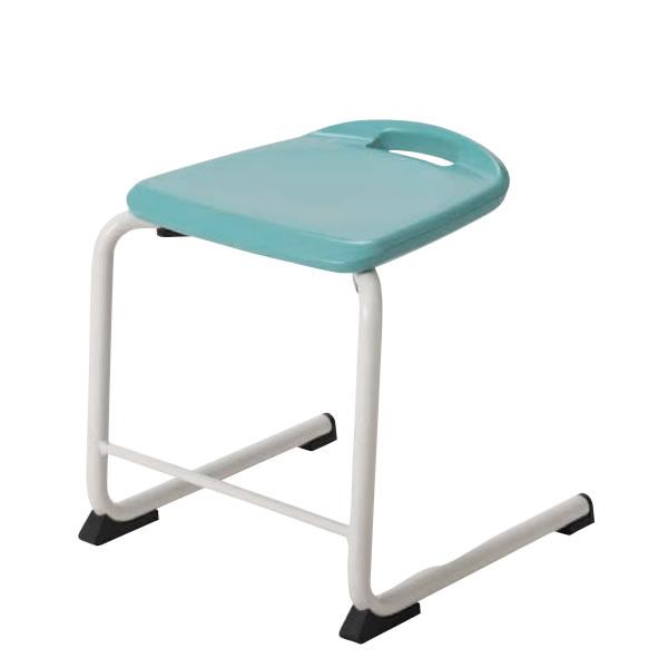 作業椅子 作業用 椅子 ハンギングチェア スタッキングチェア 座面高42cm HBS-U42