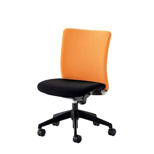 オフィスチェア 事務椅子 椅子 ルルティモ LuLutimo ミドルバック 肘なし 布張り LLS-30
