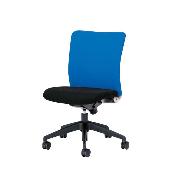 オフィスチェア 事務椅子 椅子 ルルティモ LuLutimo ミドルバック 肘なし ロッキング任意固定機構 布張り LLS-35