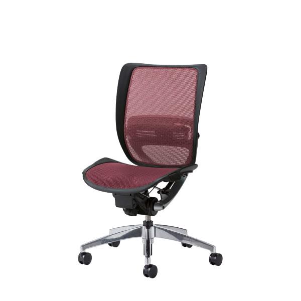 オフィスチェアー オフィスチェア 椅子 SFRチェア アルミ脚 肘なし 背 座メッシュ SFR-92