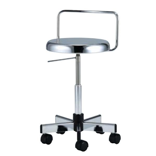 導電チェア 作業用チェアー 作業 椅子 ガス上下調節 導電双輪キャスター TD-EH85L