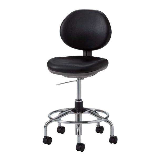 導電チェア 導電チェアー 作業用チェア 作業椅子 オフィスチェア 椅子 ガス上下調節 導電双輪キャスター TE-ET65