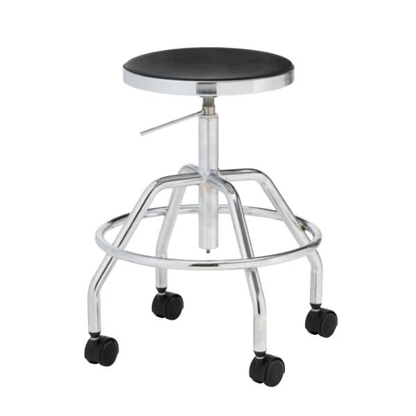導電チェア 作業用チェアー 作業 椅子 ガス上下調節 導電双輪キャスター TG-E2L