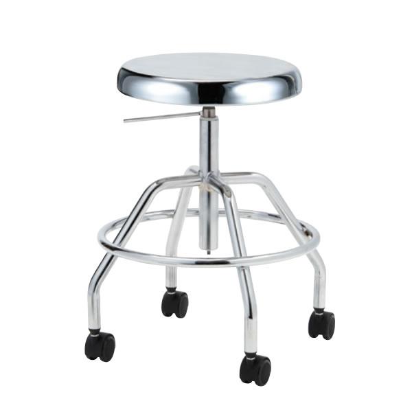 導電チェア 作業用チェアー 作業 椅子 ガス上下調節 導電双輪キャスター TG-EH60L