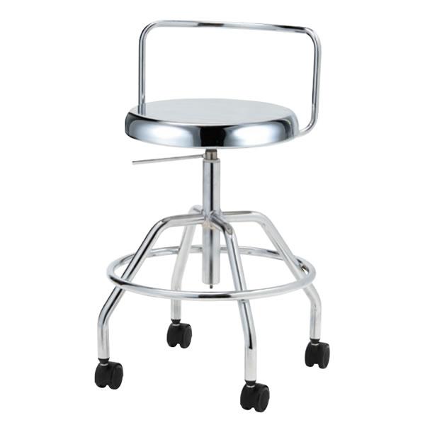 導電チェア 作業用チェアー 作業 椅子 ガス上下調節 導電双輪キャスター TG-EH65L