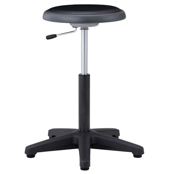 高作業用スツール 立位作業用チェア 作業椅子 作業用椅子 ガス上下調節 キャスターなし NO-41N-Z