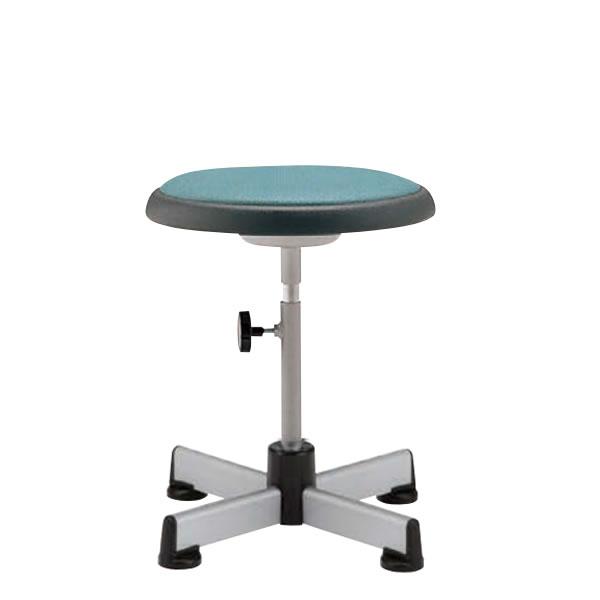 椅子スツール 回転椅子 診察 診療用チェア メディカルチェア 樹脂固定脚 手動上下調節 TD-2PKN
