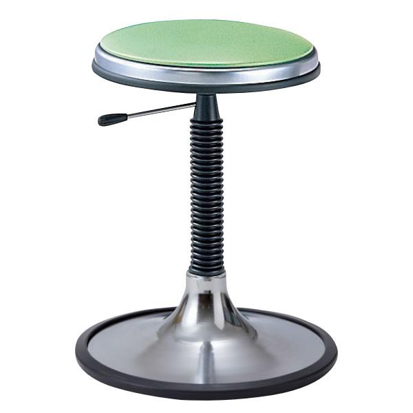 椅子スツール 回転椅子 患者用チェア メディカルチェア 円盤脚 ラバープロテクタ付き ガス上下調節 TD-PH13L