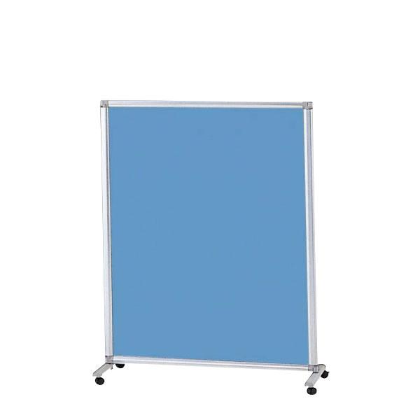 衝立 スクリーン オフィスクロススクリーン 単体 幅1216ミリ×高さ1530ミリ キャスター付き TESK-1512