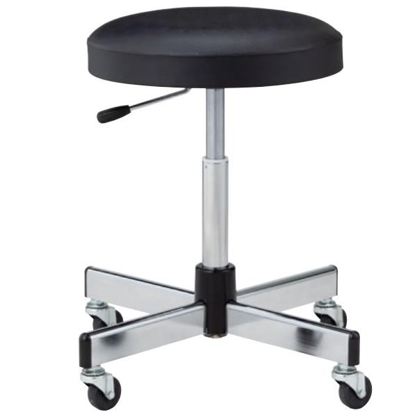 作業用チェア 作業 椅子 スツール ガス上下調節 キャスター脚 TL-6L-Z