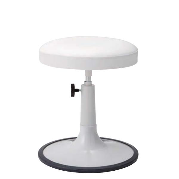 椅子スツール 患者用チェア メディカルチェア 円盤脚 ラバープロテクタ付き 手動上下調節 TW-P613