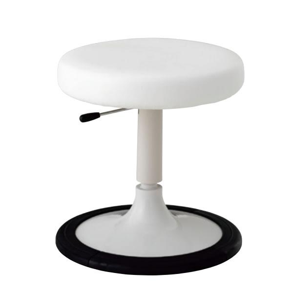 診察イス 患者用チェア 診察椅子 メディカルチェア メディカルスツール ホスピタルスツール 椅子スツール 円盤脚 樹脂プロテクタ付き ガス上下調節 BW-J13L