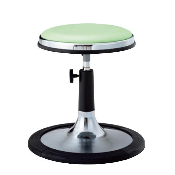 椅子スツール 回転椅子 患者用チェア メディカルチェア 円盤脚 樹脂プロテクタ付き 手動上下調節 TD-JH13