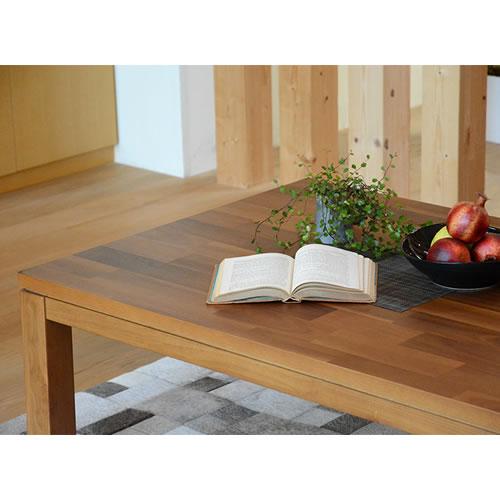 こたつ 長方形 木製 天然木 リビング コタツ モダン シンプル 2段階 高さ調節 北欧 テーブル 炬燵 おしゃれ 収納 幅 120cm[タリス120]