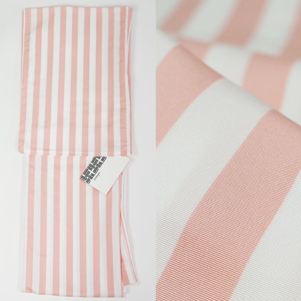 洗える着物【単衣】単品【S・M・L・TL・LLサイズ】サイズが選べます!ベビーピンク ストライプwskf19002