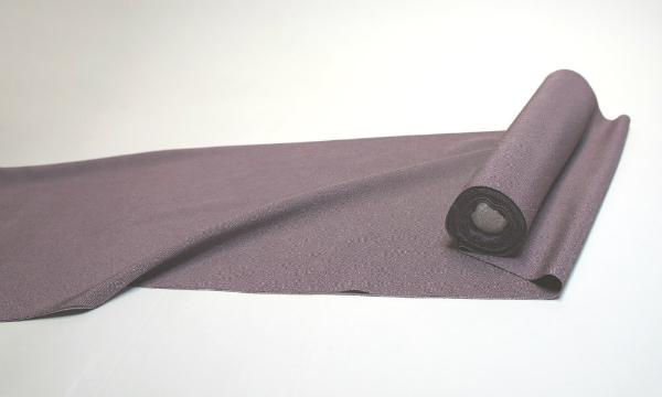 【送料無料】東レシルック 洗える合繊反物【お仕立付 着物 江戸小紋】鮫小紋 紫色 gosen0003