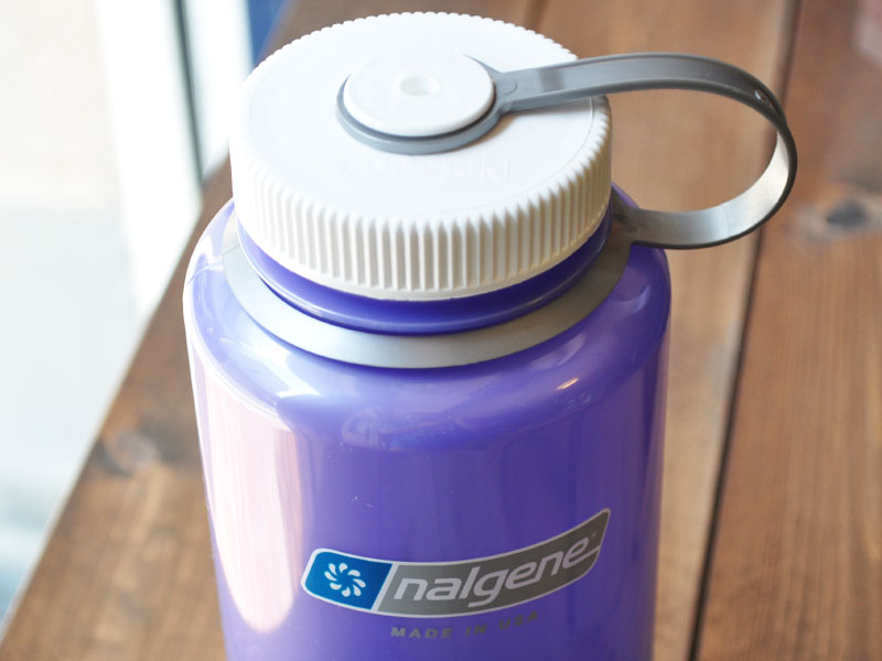 -81261 - wide-mouth bottle 1.0 L Translucents lilac [nalgene 32 oz (1000 ml) Wide Mouth water bottle]