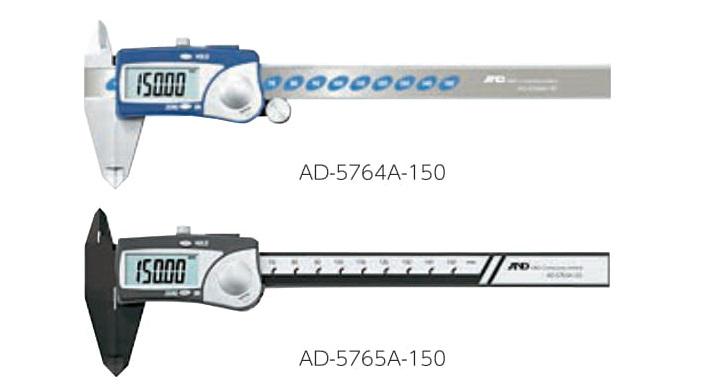 データホールド、オートパワーオフ機能 デジタルノギス 200mmエー・アンド・ディ AD-5764A-200ノギス 長さ 測定 計測