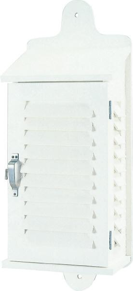 温度計 湿度計を格納し正確に測定 大平産業 百葉箱 単葉 H6 予約 全国どこでも送料無料 壁掛け型6号 No.091-1101