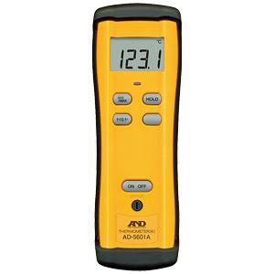 アスファルト温度計 エーアンドデーAD-5601A、AD-1215本体とセンサーのセット品217412