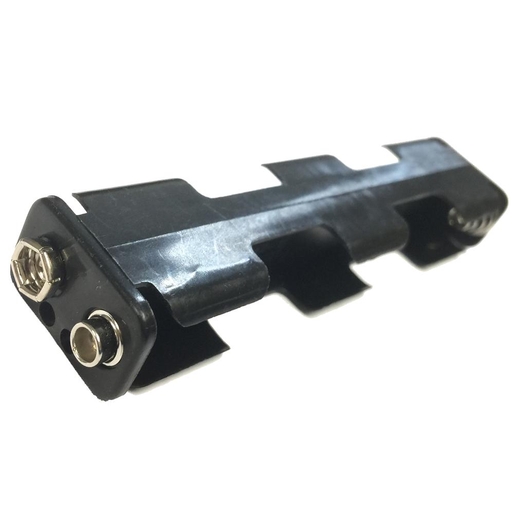 単三電池が4本入る6V スナップ式 電池ケース 単三乾電池 AAサイズ 4本用 代引き不可 縦型 バッテリー ケース 6V DC 電池ボックス 早割クーポン バッテリーホルダー スナップタイプ 2x2列 4 単三サイズの電池が4本入る 背中合わせ AA 電池 x メール便配送可 バッテリーケース