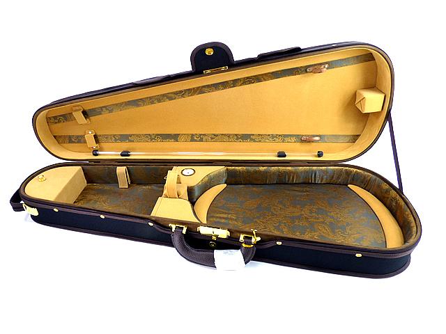 "Deluxe Shaped Viola Case 17""用ヴィオラケース(シェイプタイプ) ブラック"