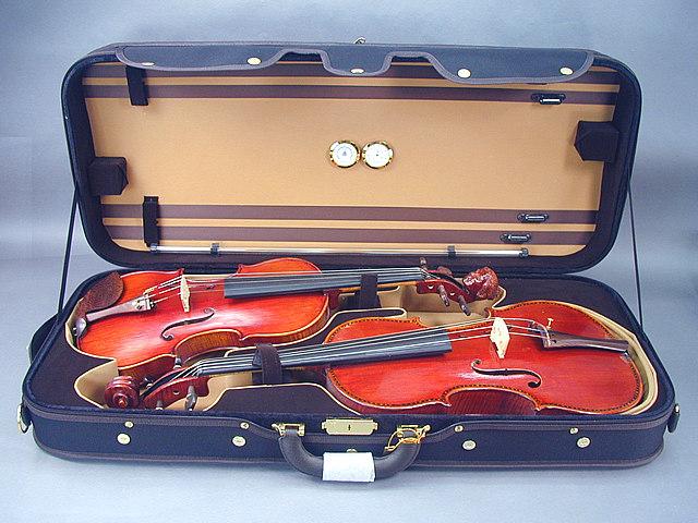 バイオリン/ビオラ コンビケース Violin + Viola(15.5