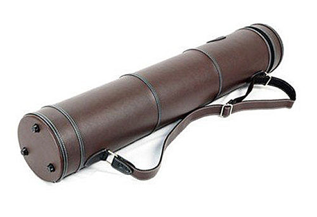 PEDI 弦楽器弓ケース 円筒弓ケース・24本用「Brown」バイオリン・ビオラ・チェロ兼用