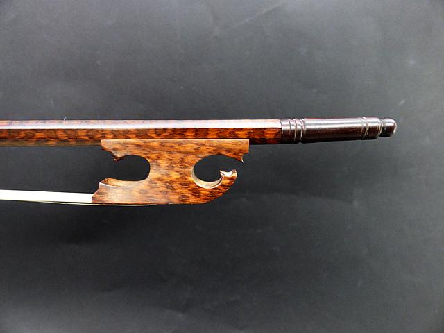 バロック ビオラ弓 スネークウッド Snail Model #22