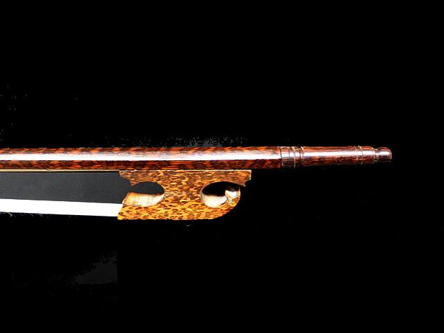 バロック ビオラ弓 スネークウッド Snail Model #24
