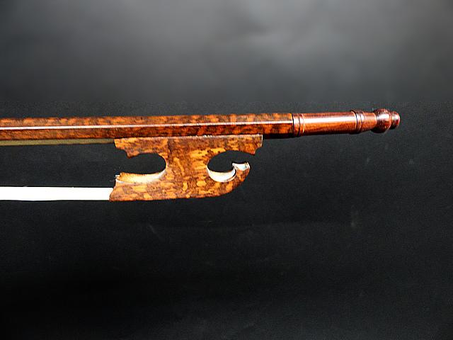 バロック ビオラ弓 スネークウッド Snail Model #28