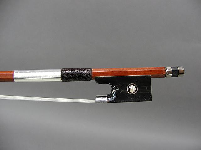 1/2 水牛角 バイオリン弓 B フェルナンブコ ホーン