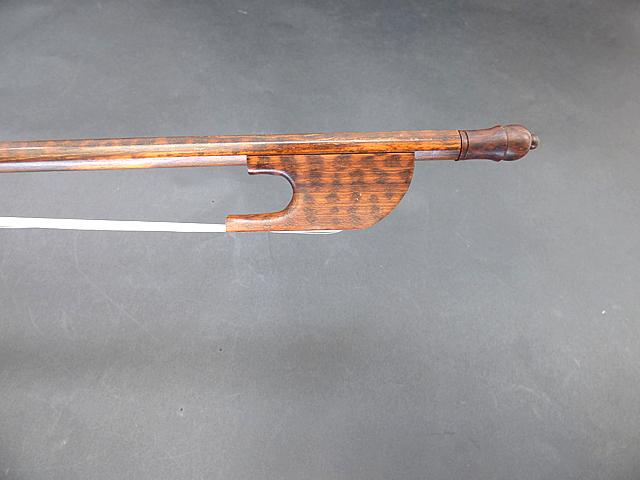 バイオリン弓 #75 バロック スネークウッド
