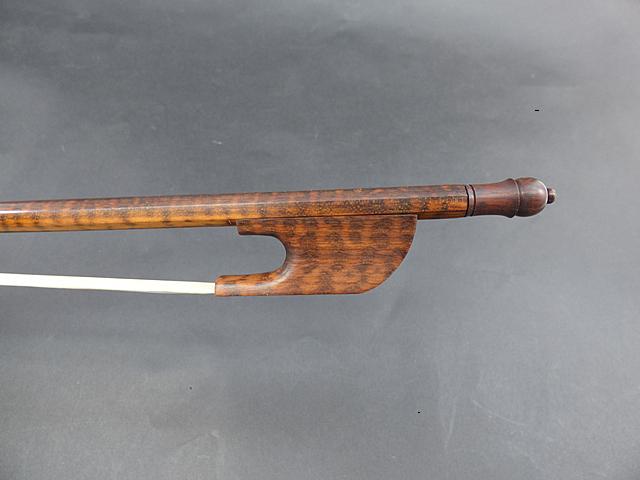 バロック バイオリン弓 スネークウッド #77