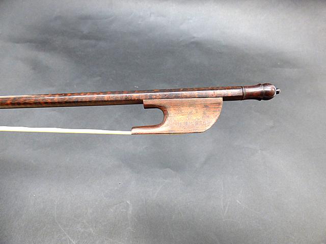 バロック バイオリン弓 スネークウッド #80