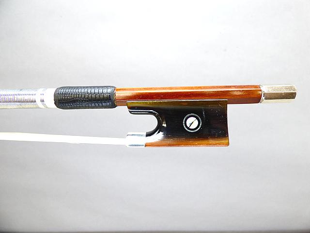 フェルナンブコ バイオリン弓水牛角 フロッグ #2 65g