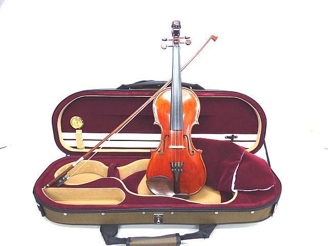 Lion Head ViolinOld Finish Stainer Model
