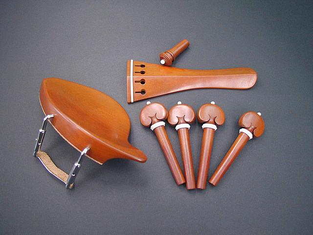 Violin Fitting set Boxwood Dresden