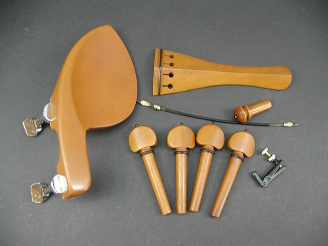 Black Model GuaruneriHill Fitting Violin set