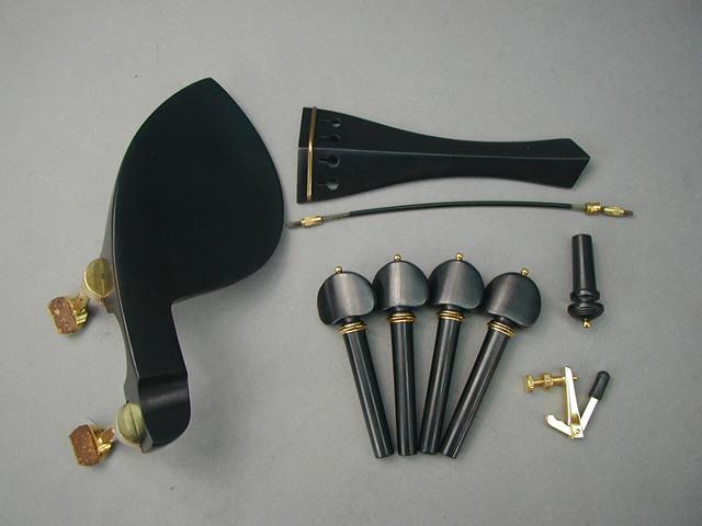 Violin Fitting set GuaruneriGold Hill Model